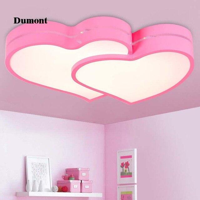 Kinderkamer plafond led meisjes slaapkamer lamp kamer led eenvoudige ...