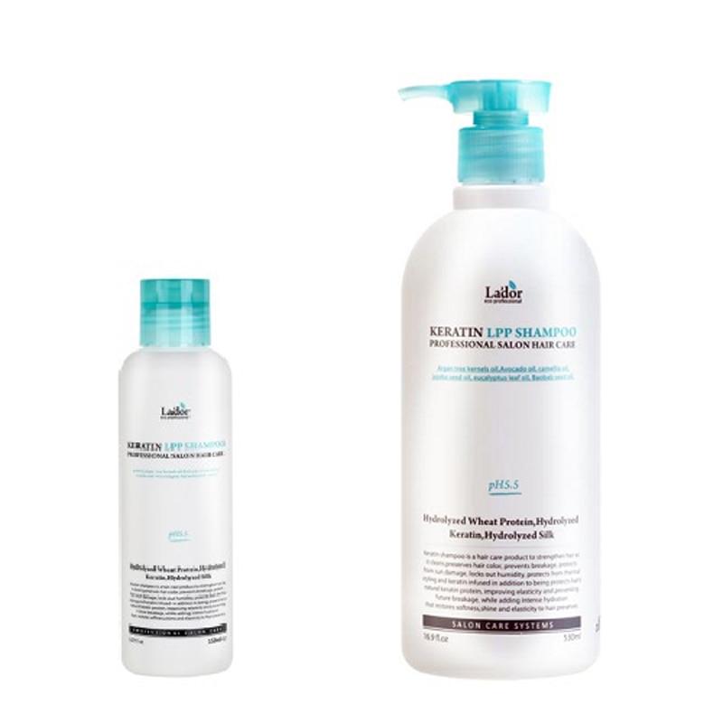 LADOR Keratin LPP Shampoo 1pcs Keratin Hair Straightening Treatment with Pre Keratin Shampoo Hair Care for Repair Damaged Hair цены онлайн