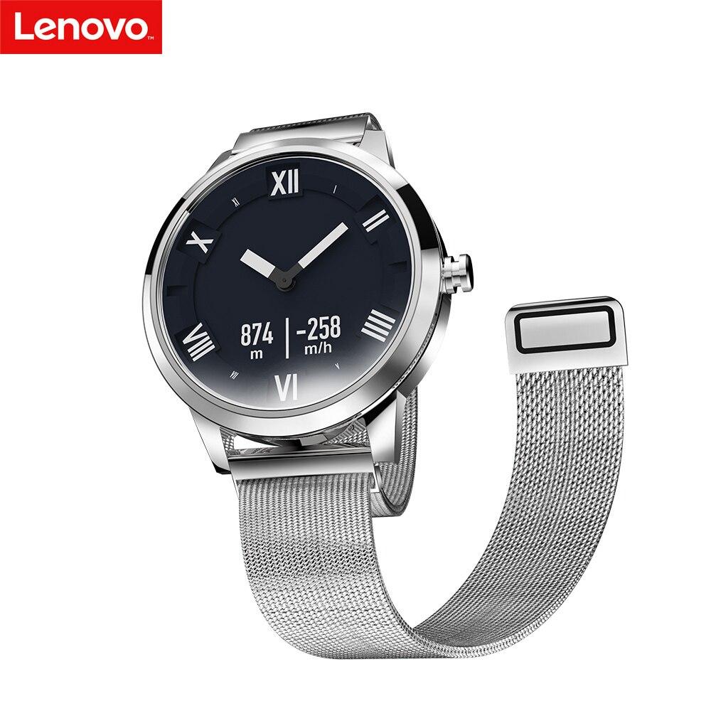 Lenovo Watch X Watch X Plus Smart Watch 80ATM Waterproof Luminous Pointer Fitness Tracker Sleep Heart