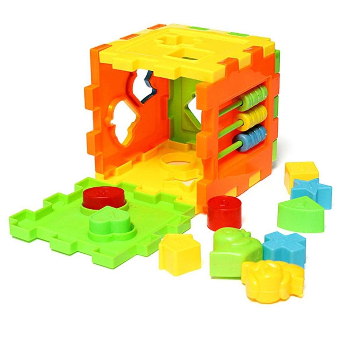 Bébé Enfants Coloré Bloc Cube Jouets Éducatifs Blocs de ...