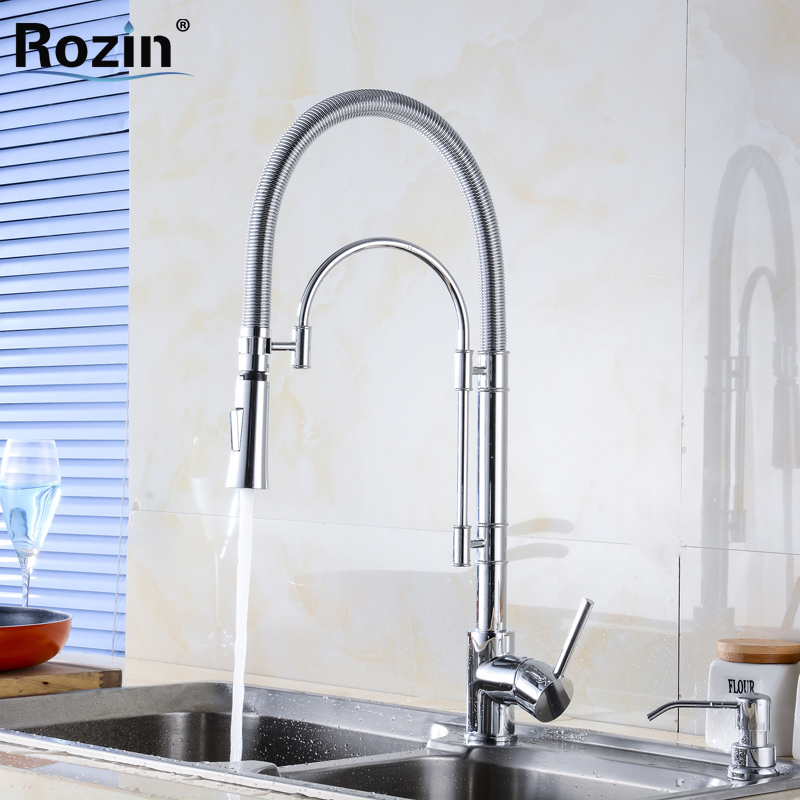 Polished Chrome 3 Type Deck Mount Brass Kitchen Sink Mixer Faucet Single Lever Hot Cold Water Kitchen Faucet torayvino style kitchen faucet chrome polished deck mounted single handle hot cold water beautiful eminent kitchen faucet