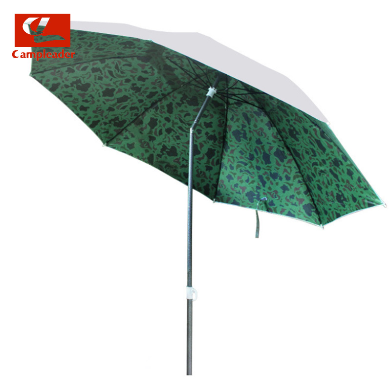 Campleader Fishing umbrella 1.8m diameter Iron straight umbrella sunshade fishing umbrella Oxford silver tape sun shelter CL032 free shipping dia 84cm chinese paper parasol rain sunshade womens umbrella with anthemy picture handmade oiled paper umbrella