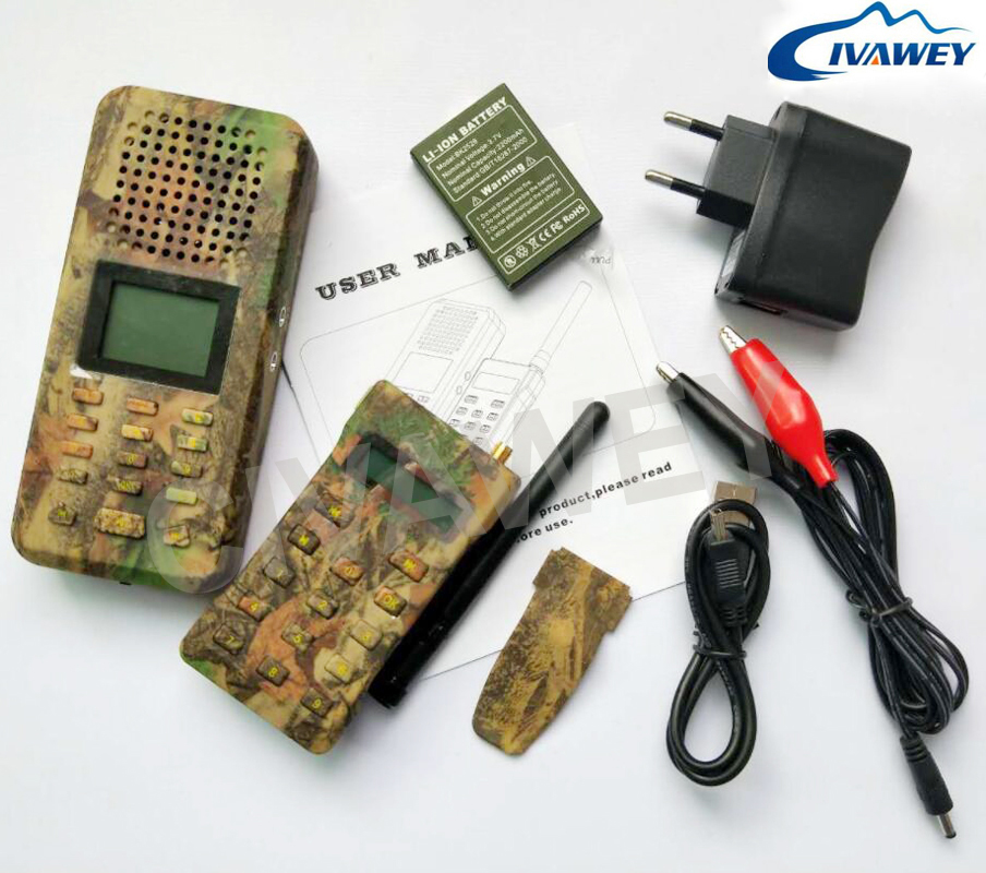 With remote controller 20W Mallard Duck Call Snow Goose call 150 Birds sound hunting MP3 Player bird caller timer on/off