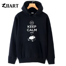 keep calm Lying down and sleep couple clothes girls woman female autumn winter cotton fleece hoodies()