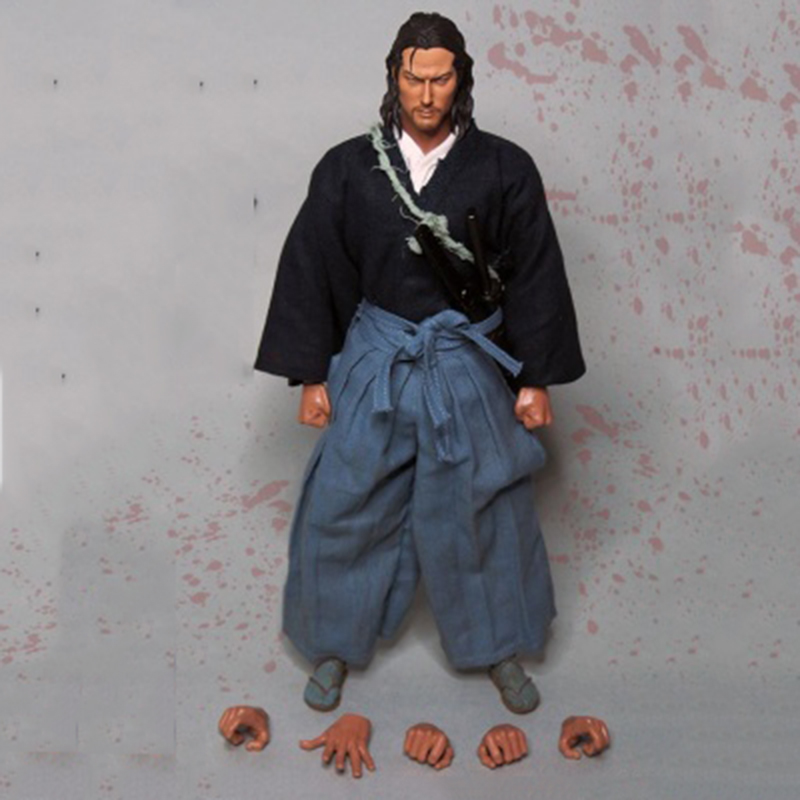 1/6 Scale Japanese Ninja Samurai Full Set Figures for Toys Gifts   Collections 2