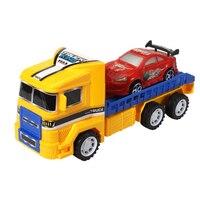 TWINKLECAT Çocuk simülasyon büyük kamyon oyuncak modeli atalet araba yarışı spor programı araç bahar ejeksiyon