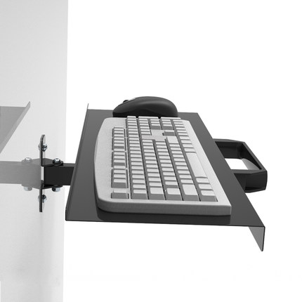 New coming keyboard tray Wall mount foldable keyboard tray holder size 65 21cm wall mount Keyboard
