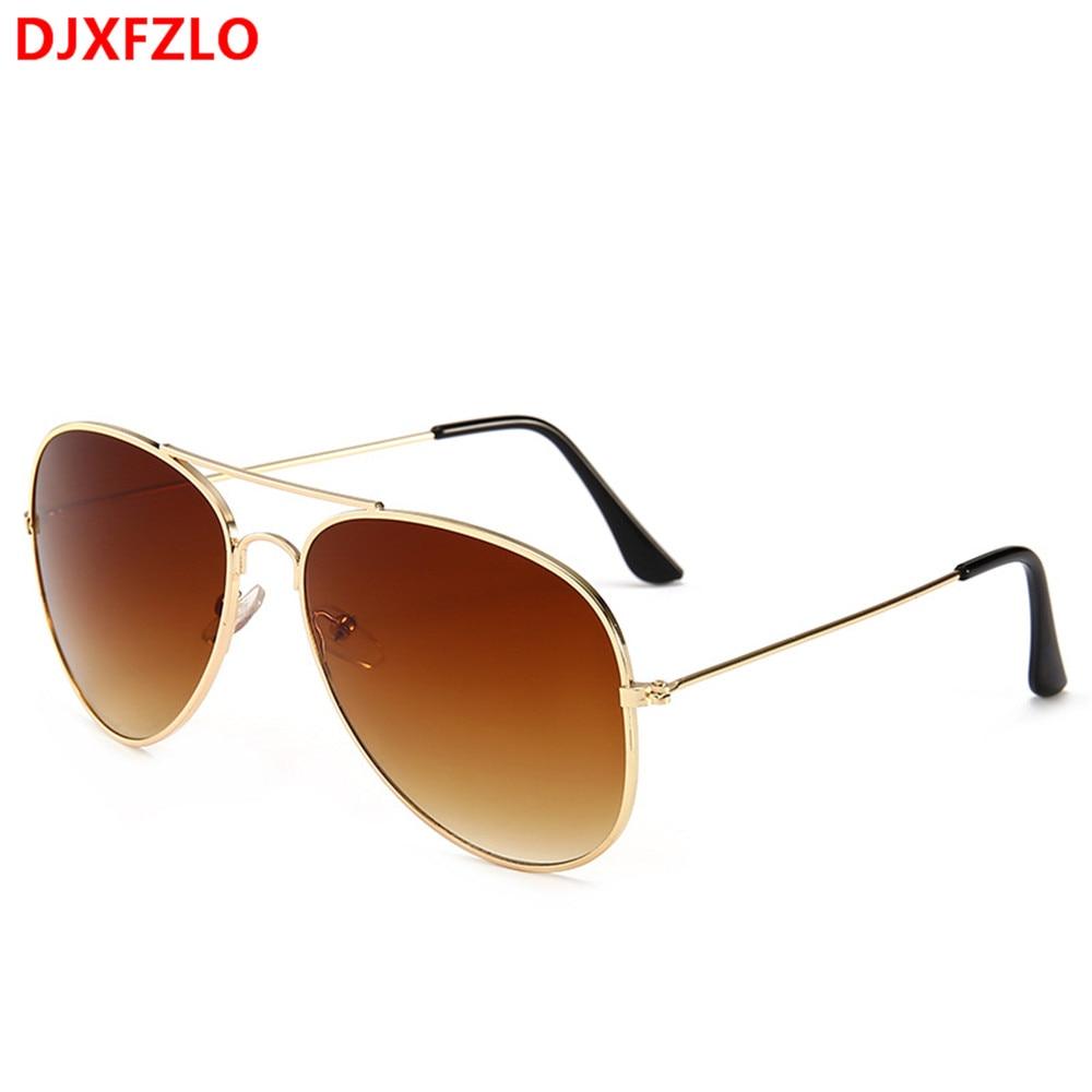 DJXFZLO Brand Designer  Fashion Gradient  Sunglasses Men And Sunglasses Women Retro Colorful Sunglasses Trend   Oculos De Sol