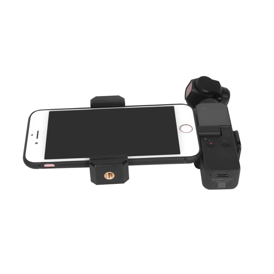 OSMO Pocket Smartphone Fixing Bracket Stand Clamp Extending Rod Tripod for DJI OSMO POCKET Gimbal Accessories 39