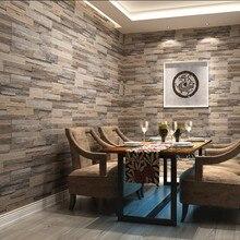 Обои 3D обои дерево кирпич узор обоев пвх камень дизайн обои винтаж стиль papel де parede для домашнего декора