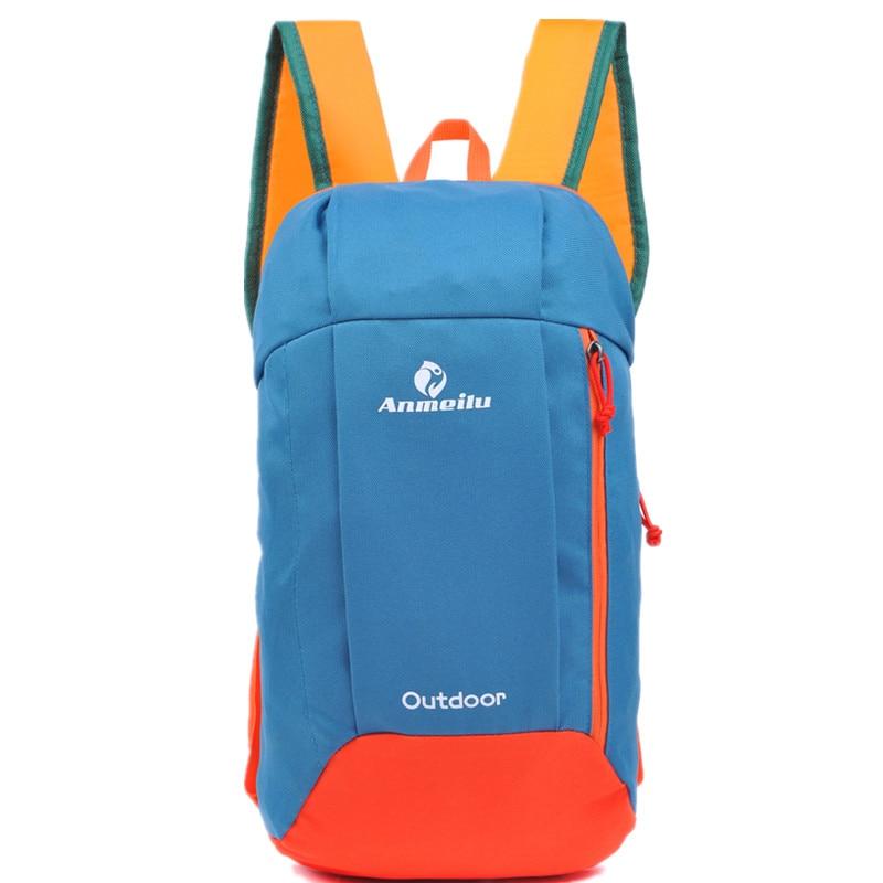 Prix pour Unisexe Nylon Casual sac à dos 2017 Petit Portable Femmes École sac à dos pour les Adolescentes Hommes 10L Sport En Plein Air Vélo Sac À Dos