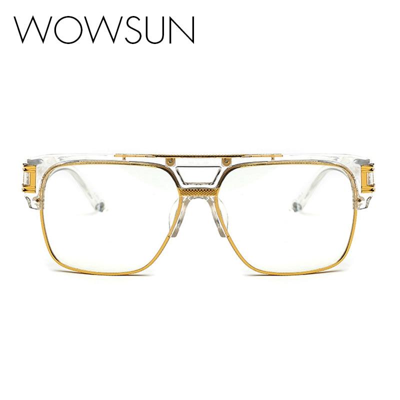top quality brand glasses frames vintage oversize