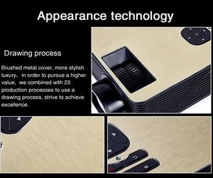 Image 5 - Poner saund m5 led projetor sistema de cinema em casa 3d proyector alto falantes de alta fidelidade hd completo selecionável android m5 wifi pk led96 projetor
