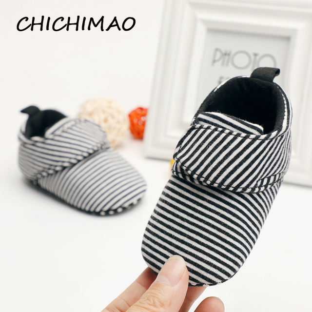 2018 унисекс для маленьких девочек обувь мальчик пинетки для новорожденных подошва Классический пол 0-18 месяцев мягкие кроватки Первые ходунки