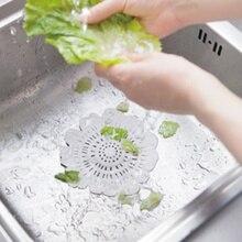 15x15 см силиконовый очиститель для кухни канализационный фильтр для раковины сливной сито для волос фильтр для ванной комнаты Ловец волос присоска