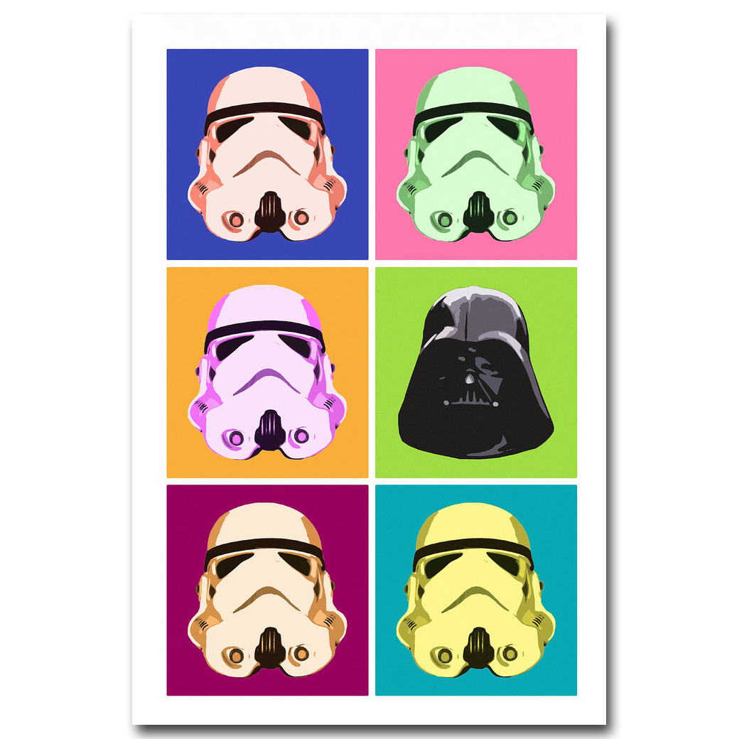 Stormtrooper Star Wars I Want To You Movie Art Silk Poster Print 13x20/""