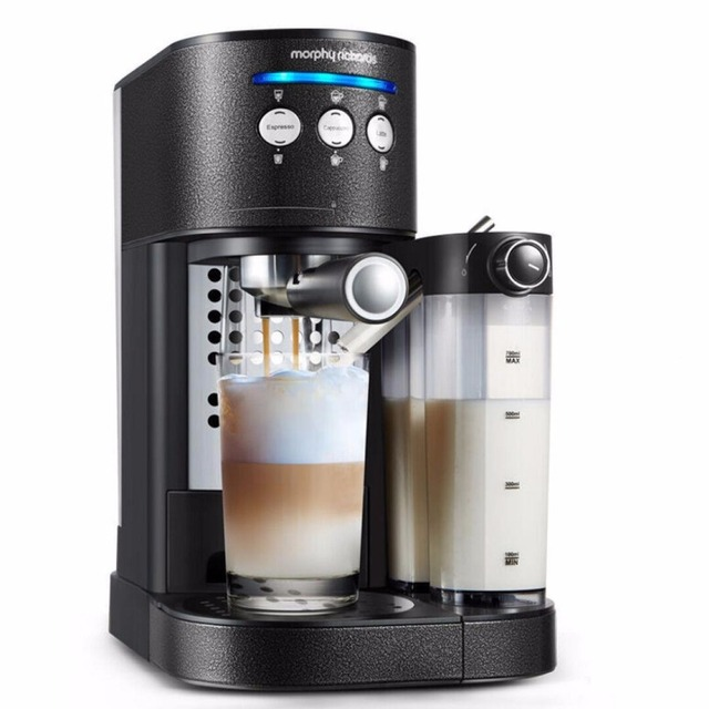 Automatic Coffee Maker 15bars Morphy Richards MR7008T Machine Fancy Foam Cappuccino Latte
