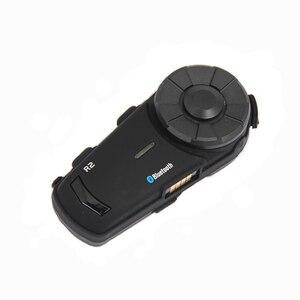 Image 5 - Mornystar R2 kask motocyklowy domofon bluetooth IPX6 wodoodporna 1200M motocykl bt interphone bezprzewodowy zestaw słuchawkowy z radiem FM