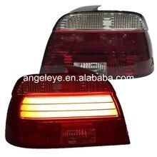 Для BMW E39 светодиодные ленты задний светильник s задний светильник 1995-2002 год красный белый цвет JY