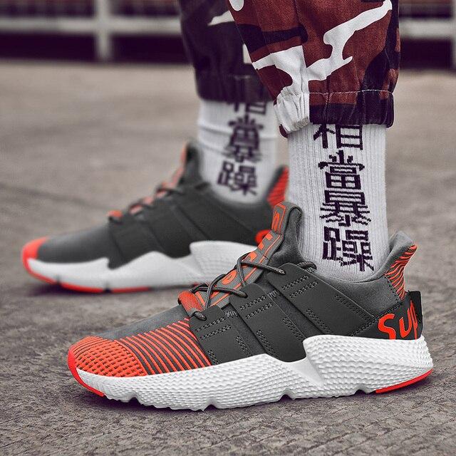 ed1d4ed18c Zapatillas de Tenis para hombre de marca nueva para hombre al aire libre  cómodos zapatos deportivos