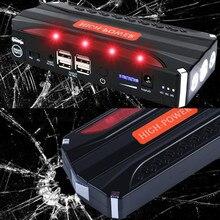 2018 Dispositivo de Arranque de Emergencia Coche de Arranque Salto 12 V Diesel Power Bank Cargador para Batería de Automóvil iluminación 600A Booster Buster