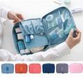 Thick Toiletry Wash Storage Bag Cosmetic Travel Make Up Hanging Folding Makeup Case Handbag Organizer RD640628