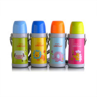 Baola Baby Drinking Water Bottle Stainless Steel Thermos Children Kid Bickiepegs 350ml