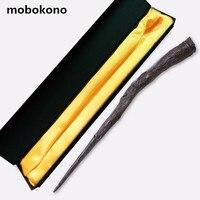 Mobokonoトップ品質ベラトリックスlestrange bella杖ハリー·ポッターコレクションウィザードスティック死イーターコスプレゲーム示すおもちゃギフ