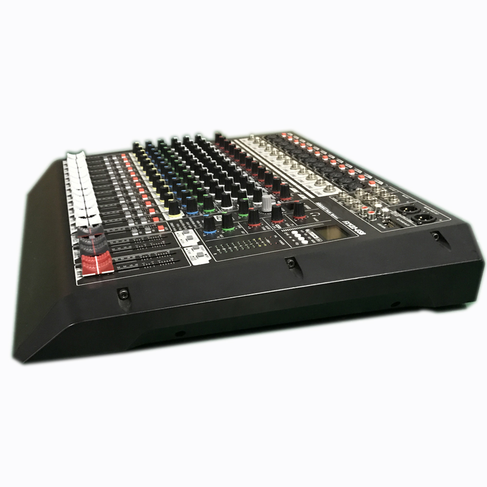Audio Mixer Fx122 Usb Professional 12 Channel Mixing Consoles Circuit Console For Stage Concert In Amplifier Dj Equipment From Consumer