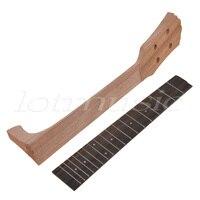 Kmise 23 Inch Concert Ukulele Parts Mahogany Ukulele Neck And Rosewood Fingerboard Fretboard