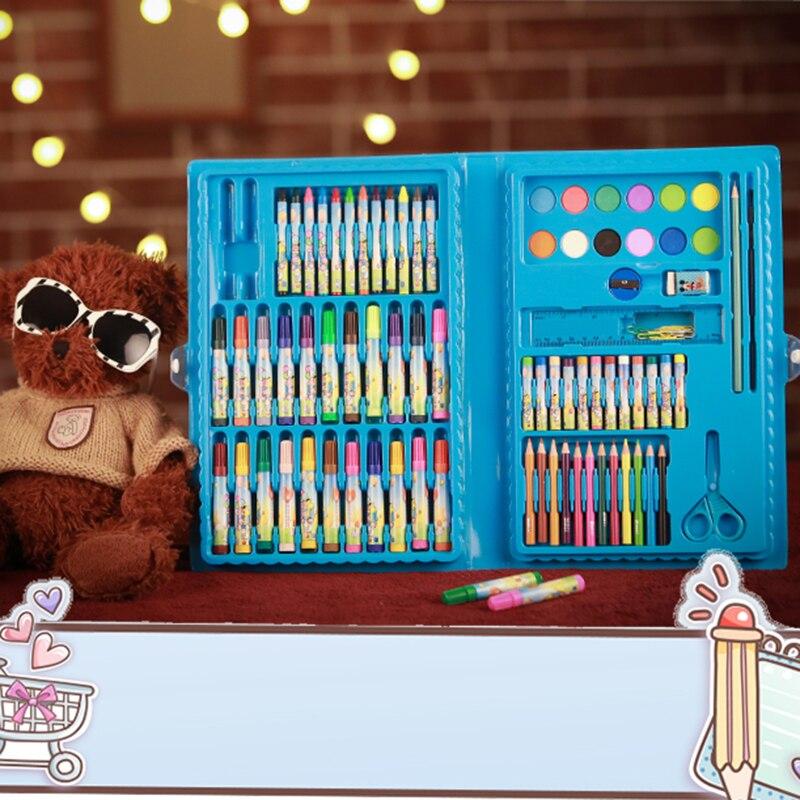 99 pièces/ensemble dessin animé mignon aquarelle Soluble crayons enfants dessin écriture enfants coloredcrayons école étude fournitures utiles