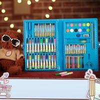 99pcs/Set Cartoon Cute WaterColore Soluble Pencils Kids Drawing Writing Children ColoredPencils School Study Useful Supplies