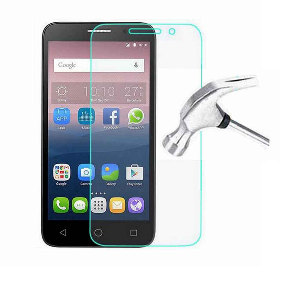 """Temperli cam için Alcatel One Touch Pop 3 5.0 5015D 5065D 5015X Pop3 5.5 """"/OT5025/5025D Premium ekran koruyucu güvenlik kapak"""