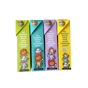 Image 2 - Brain Quest English Version Of the Intellectual Development Card Sticker Books Questions And Answers Card Smart Start Child Kids