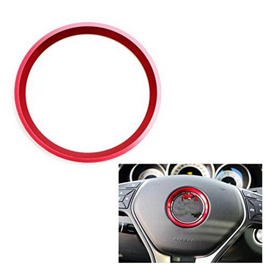 Auto Accessories Cool Car Steering Wheel Center Logo Ring For Mercedes Benz New Style Free Shipping