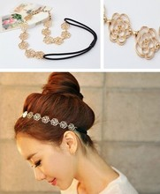 Korean Bohemian Hair Pins For Women Fashion Headband Rose Flower Hairpins Girls Wedding Party Accesorios Mujer Bijoux Cheveux ZA