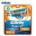 Gillette fusion proglide potencia razor blade hombres razor máquina de afeitar cuchillas de afeitar cuchilla de afeitar 8 pcs