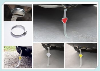Car modeling metal belt to avoid anti-static belt eliminator for BMW F20 E92 E38 E91 E53 E70 X5 X3 X6 M M3 M5 image