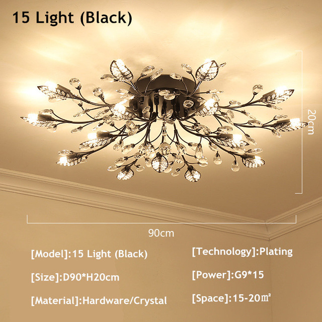 15 Lights Black