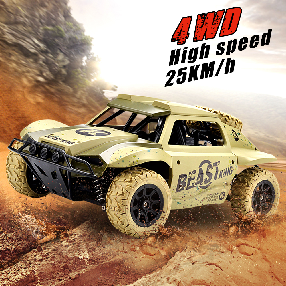 New RC Car 1:18 Short Truck 4WD Drift Remote Control Car High speed 25km/h Radio Controlled Machine Racing Cars Toys For Boys wltoys 12402 rc cars 1 12 4wd remote control drift off road rar high speed bigfoot car short truck radio control racing cars