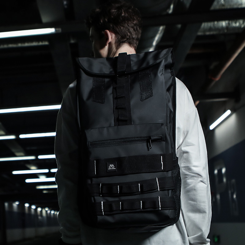 Fashion Street Fashion Street Backpack Male Casual Large Capacity Backpack Student Bag Trend Waterproof Outdoor Travel BagFashion Street Fashion Street Backpack Male Casual Large Capacity Backpack Student Bag Trend Waterproof Outdoor Travel Bag