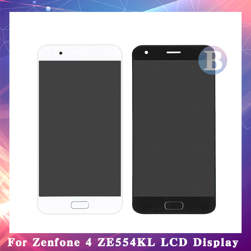 5.5 For ASUS Zenfone 4 ZE554KL LCD Display Screen With Touch Screen Digitizer Assembly Black White High Quality5.5 For ASUS Zenfone 4 ZE554KL LCD Display Screen With Touch Screen Digitizer Assembly Black White High Quality