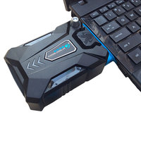 Coolcold Portable Laptop USB Cooling Fan Air Cooler Speed Adjustable Ice Troll 3 High Performance Notebook