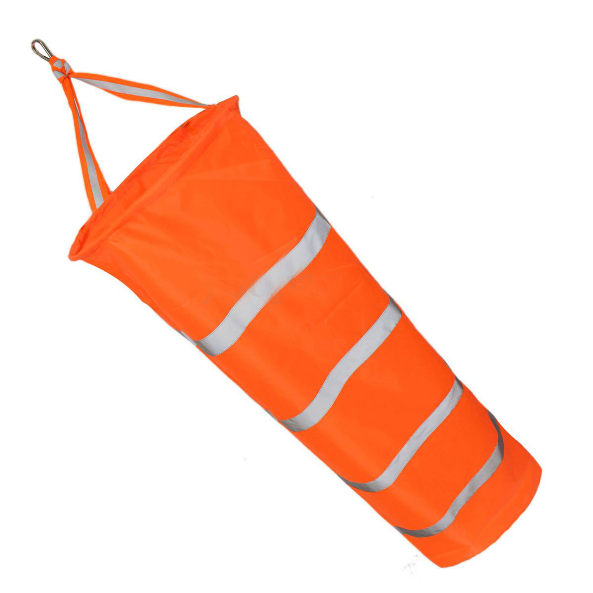 Useful 150cm Aviation Windsock Rip-stop Wind Measurement Sock Bag + Reflective Belt enhanced windsock wind vane double frame skeleton