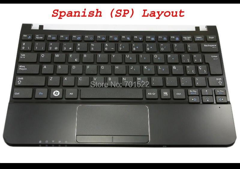 Original New Samsung N102 N102s series Keyboard spanish//SP Teclado white