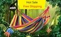 Single Double Thick Canvas Hammock Fashion Breathable Outdoor Camping Indoor Sleeping Quarters Hammocks #27