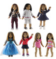 Hot 7 Set Doll Clothes New Style for 18'' American Girl Doll Princess Dress Bikini Swimming Suit