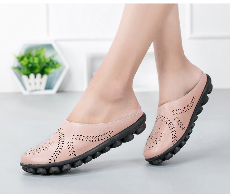XY 991 Cut Outs Women's Summer Flats Shoes -15