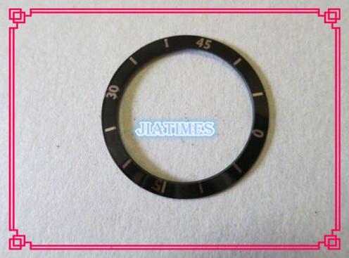 Бесплатная Доставка 1 шт. Черный 36 мм Смотреть Ободок Кольца Вставить J12 Мужчин Совместимость С J12