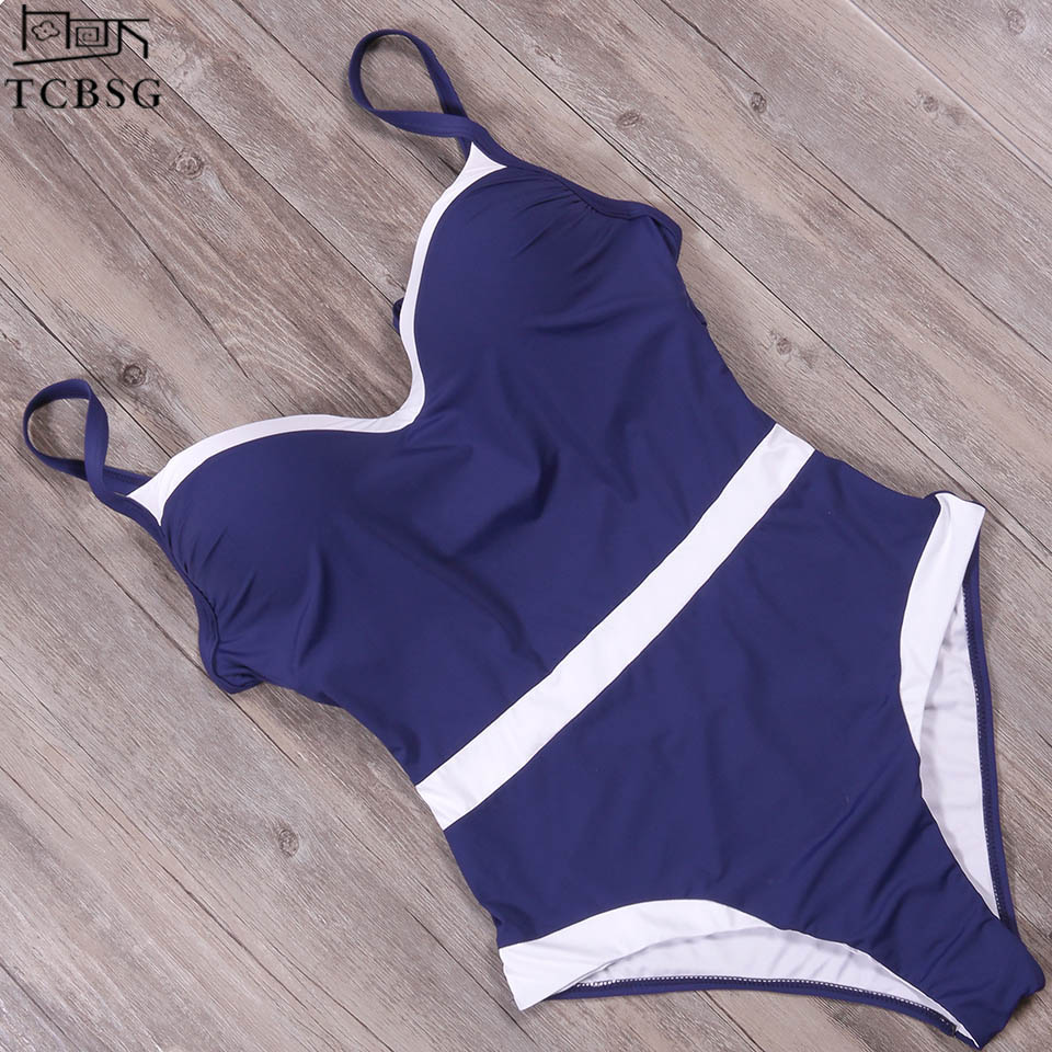 TCBSG Plus Size Costumi Da Bagno Delle Donne 2018 Nuovo vestito di Un Pezzo del Costume Da Bagno Femminile Costumi Da Bagno Estate Costumi Da Bagno di Usura Della Spiaggia del Costume Da Bagno Monokini 4XL